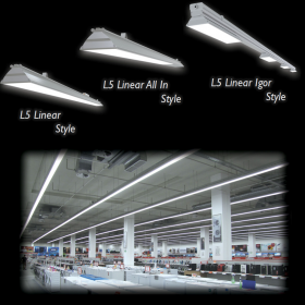 Linear LED Luminaires