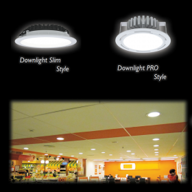 LED Spotlight and Downlight